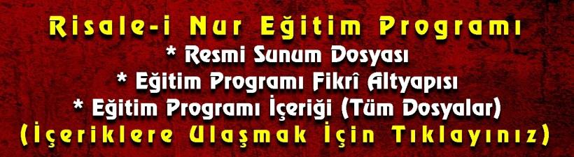 risale-i-nur-egitim-programi-resmi-sunum-dosyasi