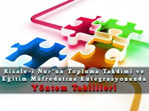 risale-i-nurun-takdimi-ve-egitime-entegrasyonunda-yontem-tahlilleri